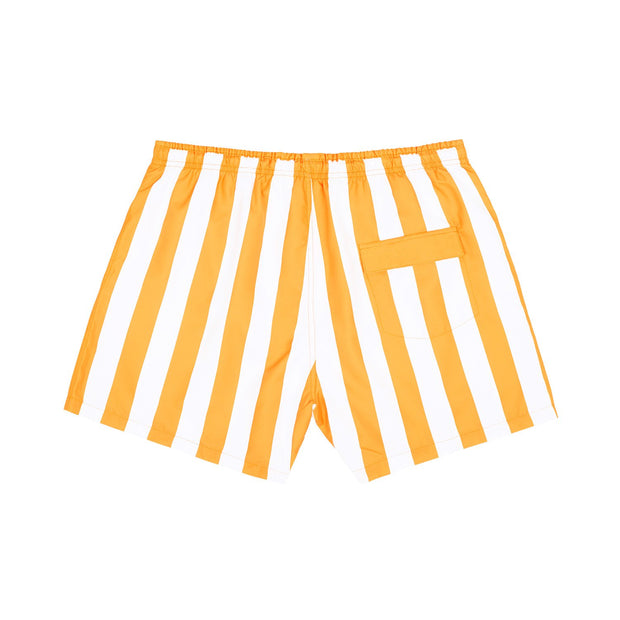 quick dry swim shorts orange