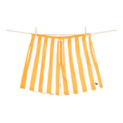 quick dry swim shorts orange microfiber towel hanging