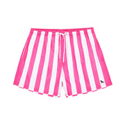 quick dry swim shorts pink front view