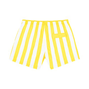 quick dry swim shorts yellow