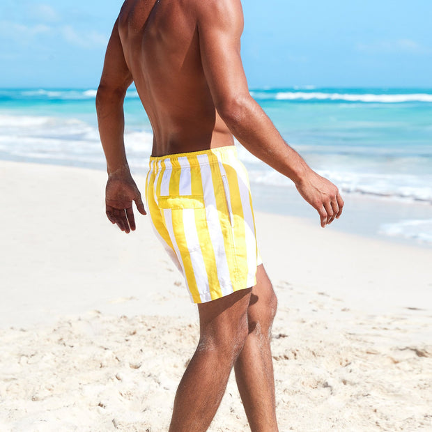 mens shorts for swimming made from recycled material