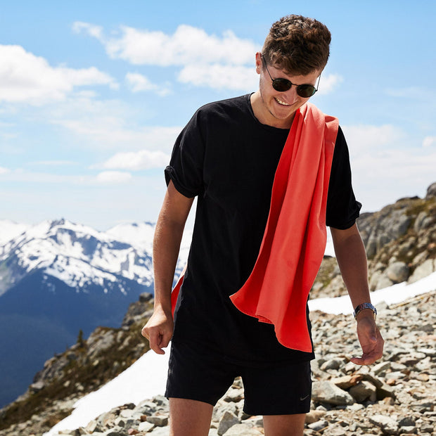 large quick dry hiking towel