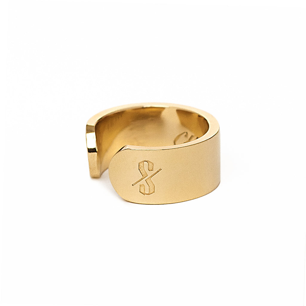 Adjustable 18-Karat Gold Cunt Ring