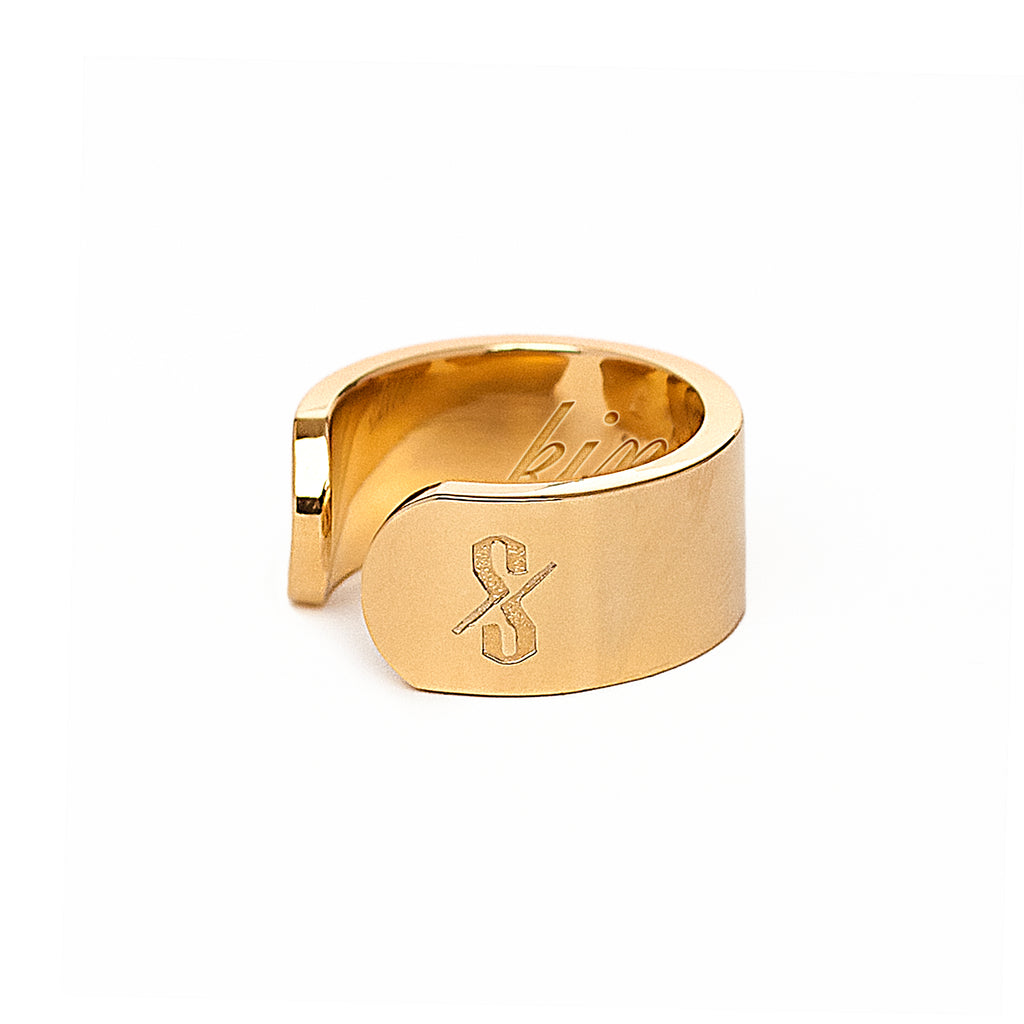 KINKY RING: 18-Karat Gold