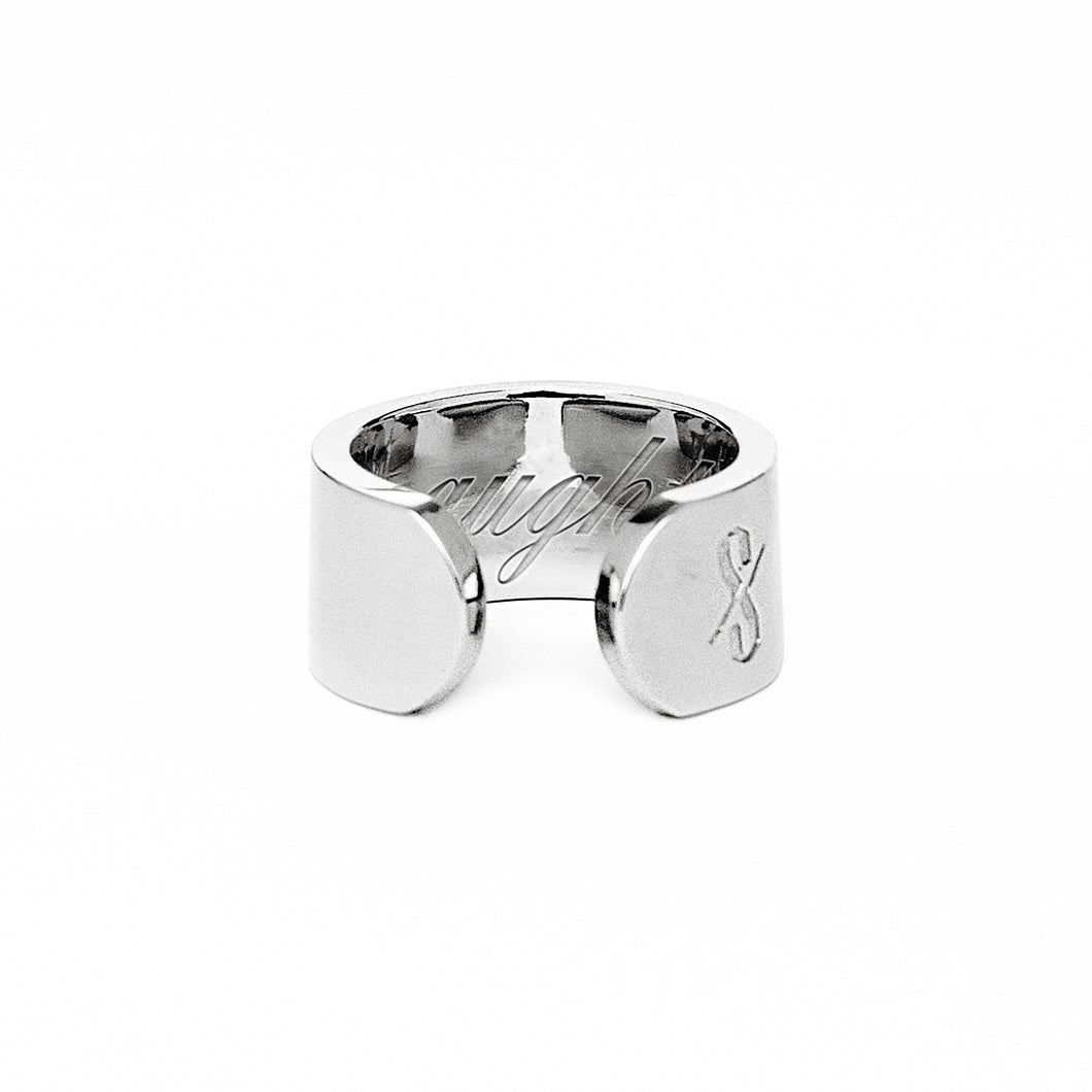 NAUGHTY RING: Silver