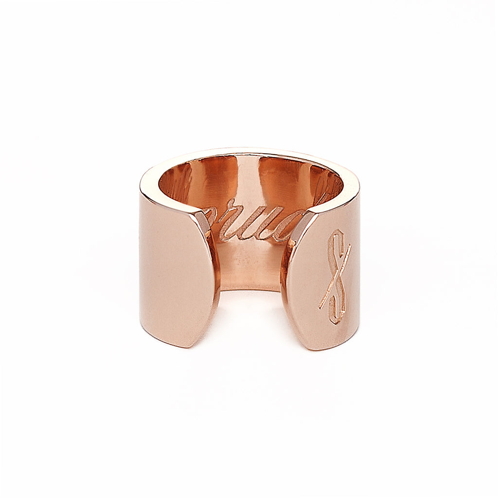 Adjustable Rose Gold Prude and Promiscuous Ring