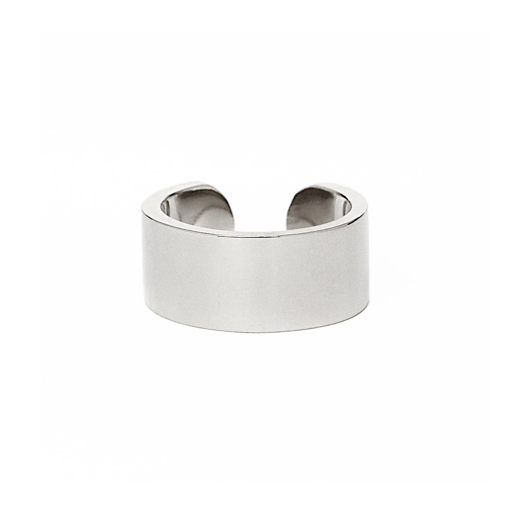 Adjustable Silver Slut Ring