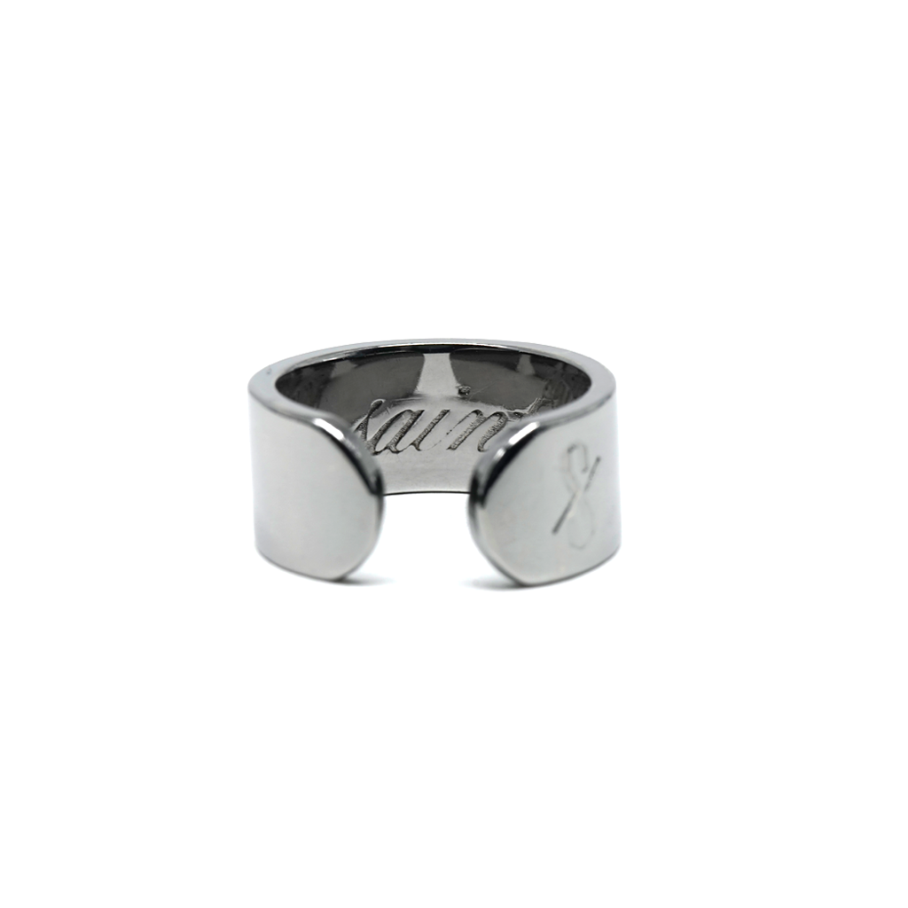SAINT RING: Gunmetal