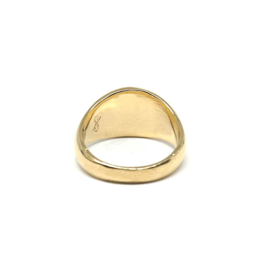 Essential Pinky Signet (18K Gold)