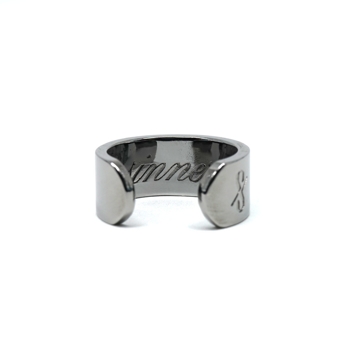 SINNER RING: Gunmetal