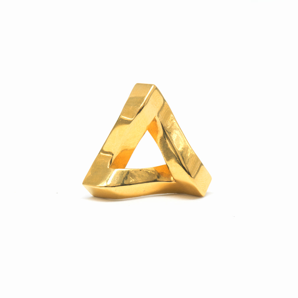 Penrose Triangle (18-Karat Yellow Gold)