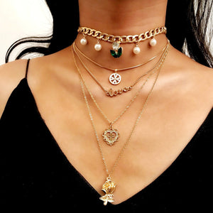 Trendy Multi-layer Necklace
