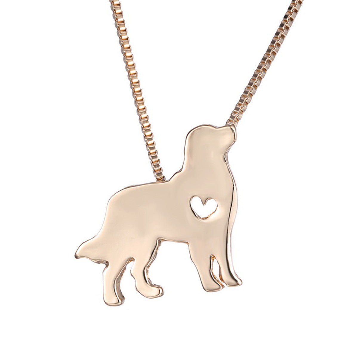 Puppy Dog Cute Lovely Animal Charm Friends Necklace Chain Jewelry