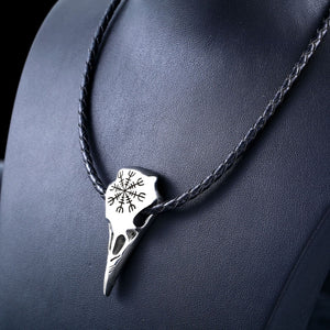 Unisex Viking Amulet Stainless Steel Pendant Necklace