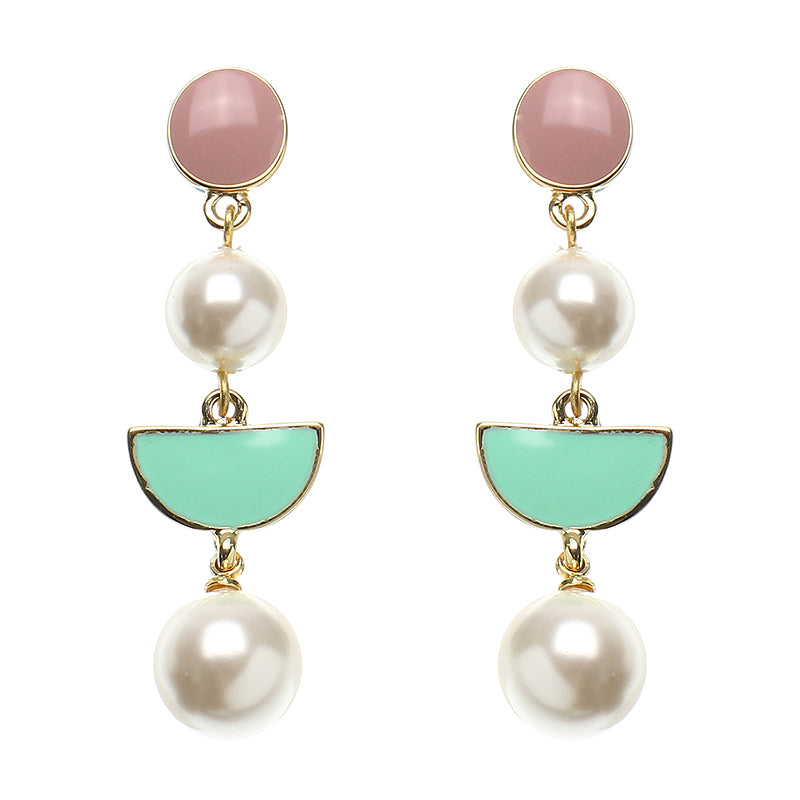 JASSY® 18K Gold Plated Pearl Ear Drop