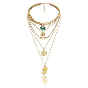 Trendy Multi-layer Necklace (01)