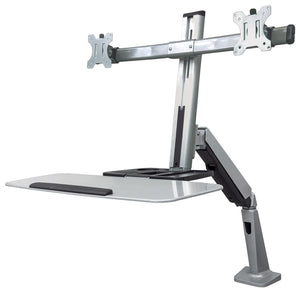 Universal Sit/Stand Workstation Mount Image 1