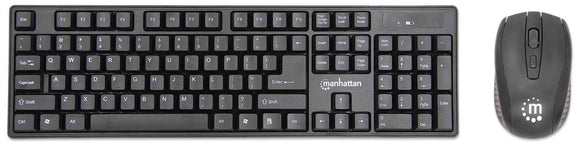 Wireless Keyboard and Optical Mouse Set Image 1