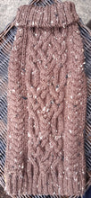 "Load image into Gallery viewer, ""The Stag Moat"" Traditional Aran Twist Cable Sweater"
