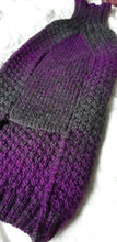 Load image into Gallery viewer, Violet Ombre Luxury Wool Dog Sweater