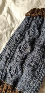Aran Diamond Cable Knit Sweater