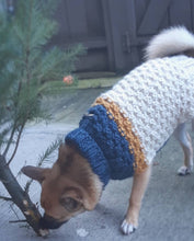Load image into Gallery viewer, The '82 Deluxe Colorblock Wool Dog Sweater