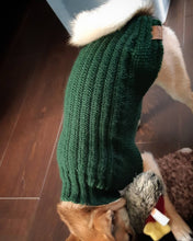 Load image into Gallery viewer, Classic Cartridge Rib Dog Sweater Premium Wool Blend