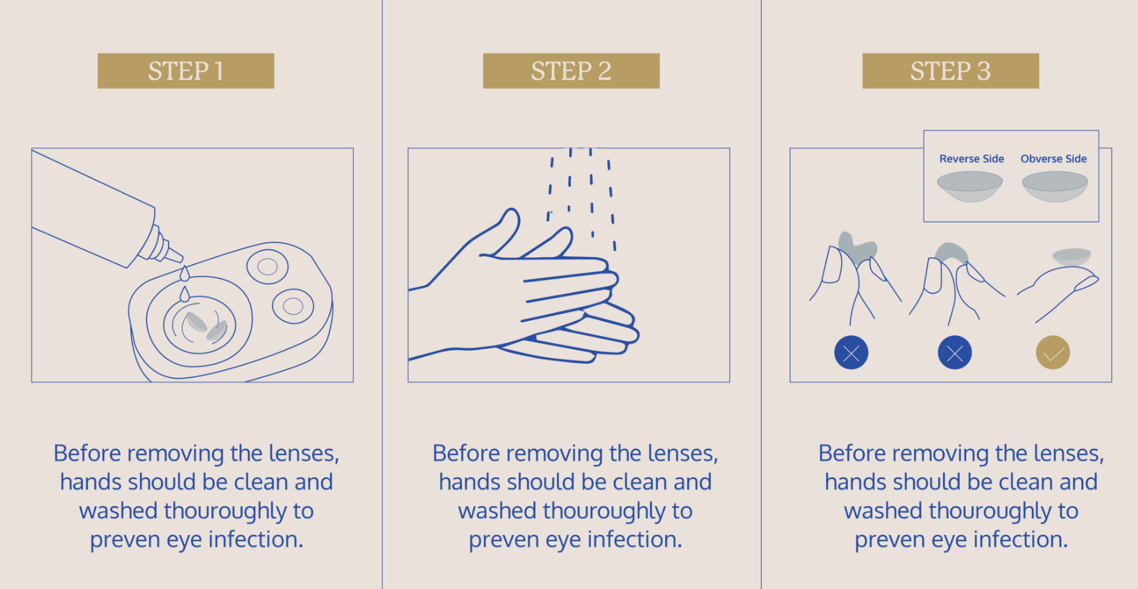 Practice before wearing contact lenses | EYE Republic Optical