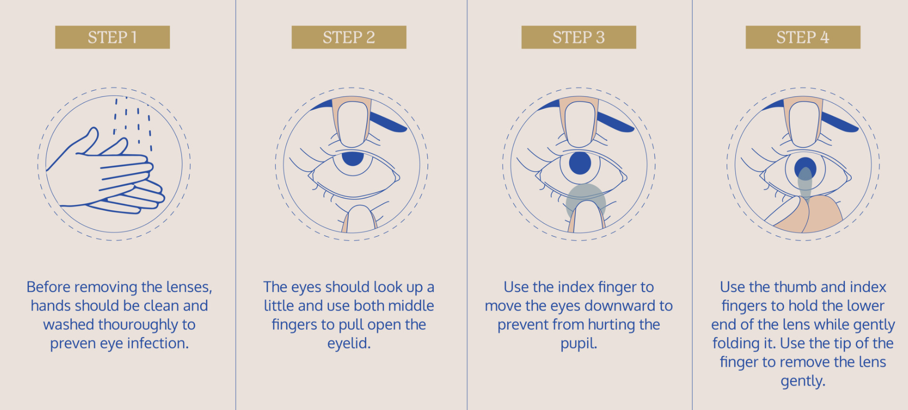 How to remove your contact lenses | EYE Republic Optical