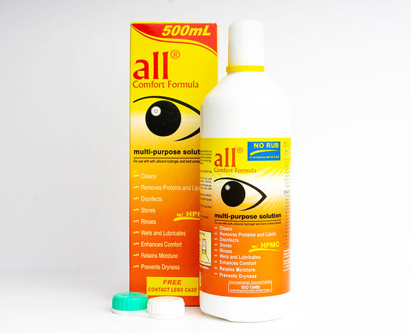 ALL COMFORT 500ML | LENS SOLUTIONS