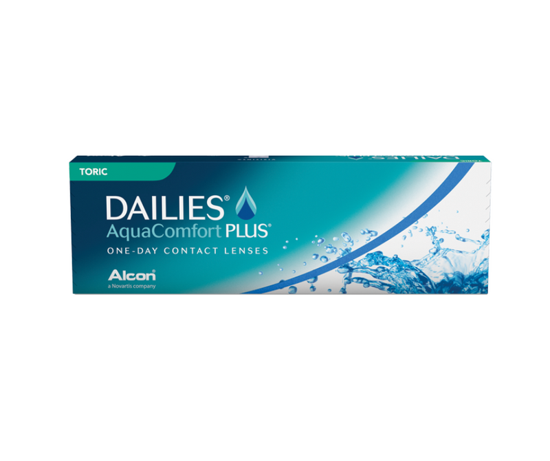 Dailies Aquacomfort Plus Astigmatism/Toric Disposable Daily | 15 pairs | CONTACT LENSES