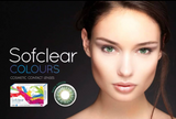 Sofclear Colors Comfort Disposable Monthly (-6.50 to -10.00) | 1 pair | CONTACT LENSES