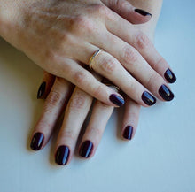 Load image into Gallery viewer, Gemini 14ml Nourishing Polish No. 2031 Black Aubergine