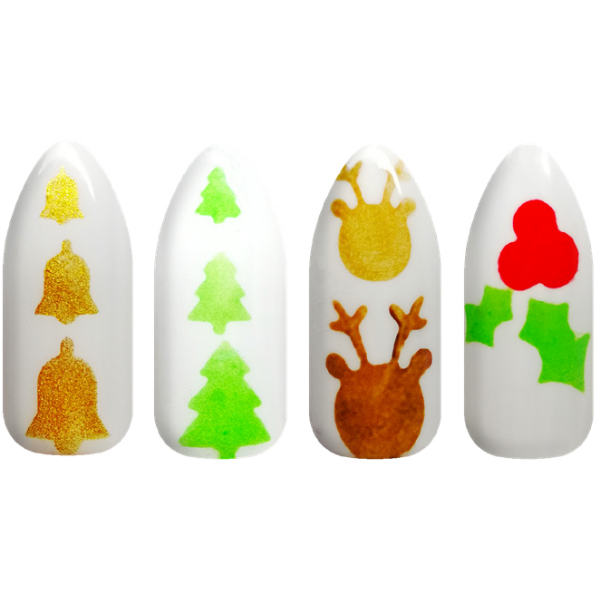 Festive Collection Stencils 4 pack