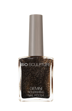 Gemini 14ml Nourishing Polish No. 137 Embellished Onyx