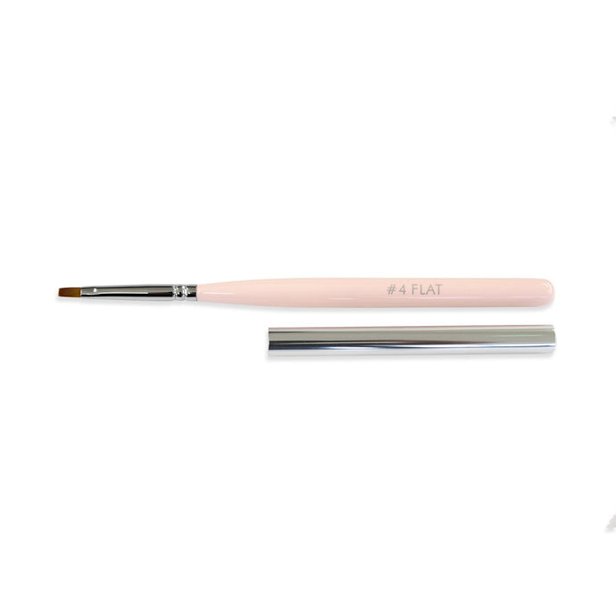Premium Synthetic #4 Flat Brush