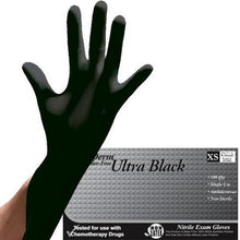 Load image into Gallery viewer, Nutriderm Ultra Black Powder Free Nitrile Glove (Black)