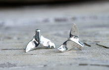 Charger l'image dans la galerie, Whale Tail Stud Earrings