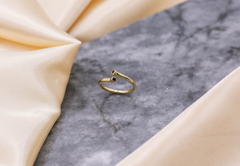Fiona Twisted Ring