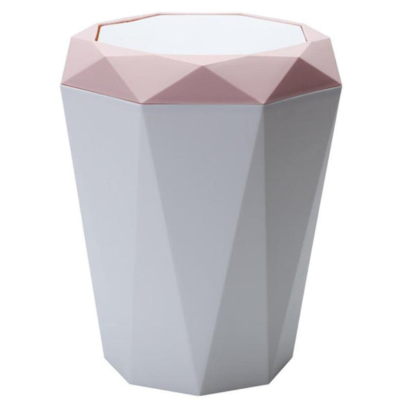Trash Can Innovative Diamond Shape