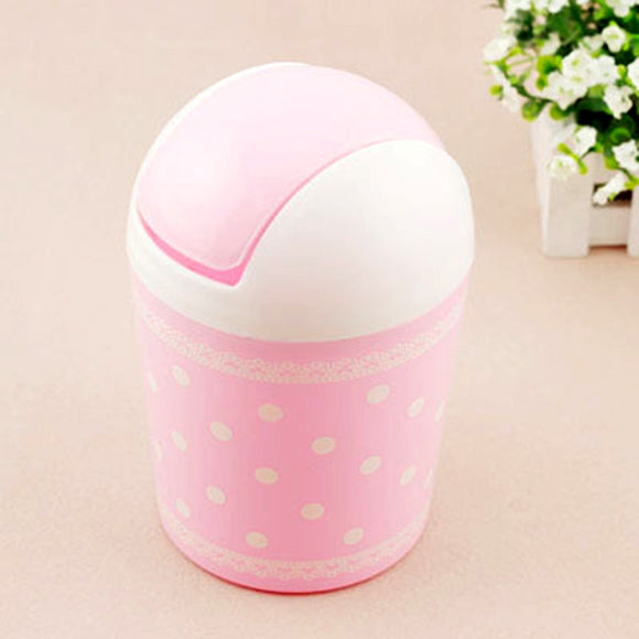 Cute Litter Mini Trash Can