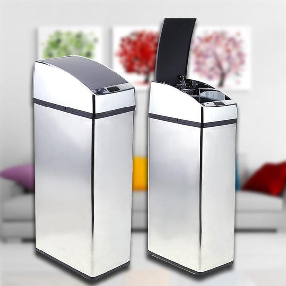 Smart Sensor Trash Can Square
