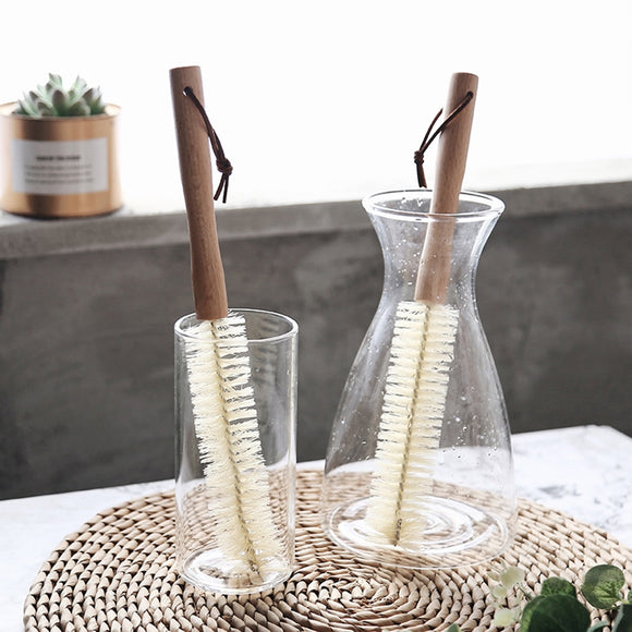 Wooden Cup Mug Cleaning Brush