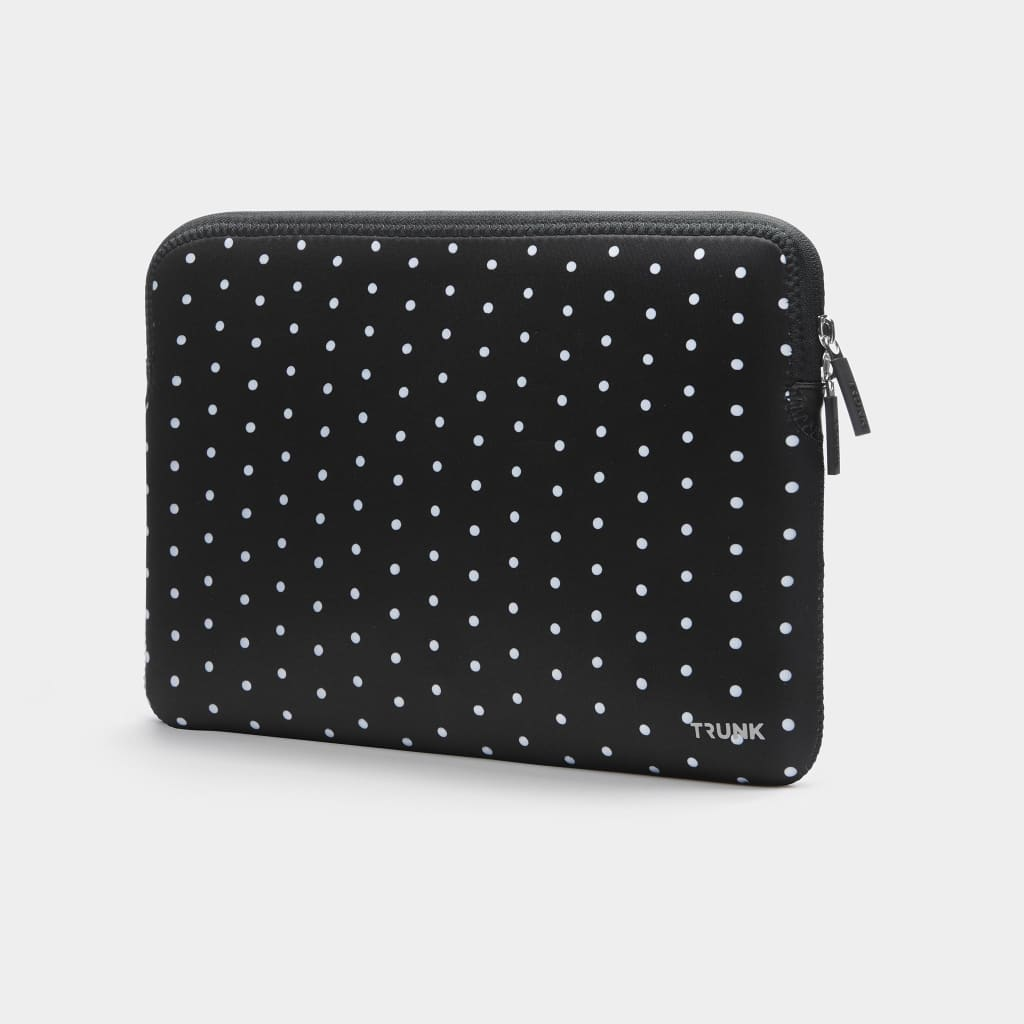 Black Mini Dot - Neoprene Sleeve