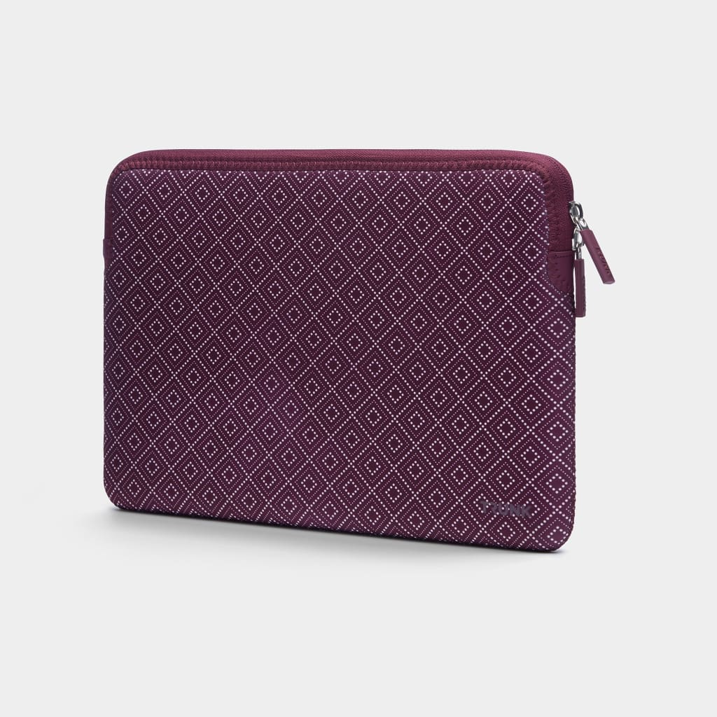 Wine Red Rhombe - Neoprene Sleeve