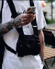 """Tactical Chest Rig/Bag"" - Visual Streetwear"