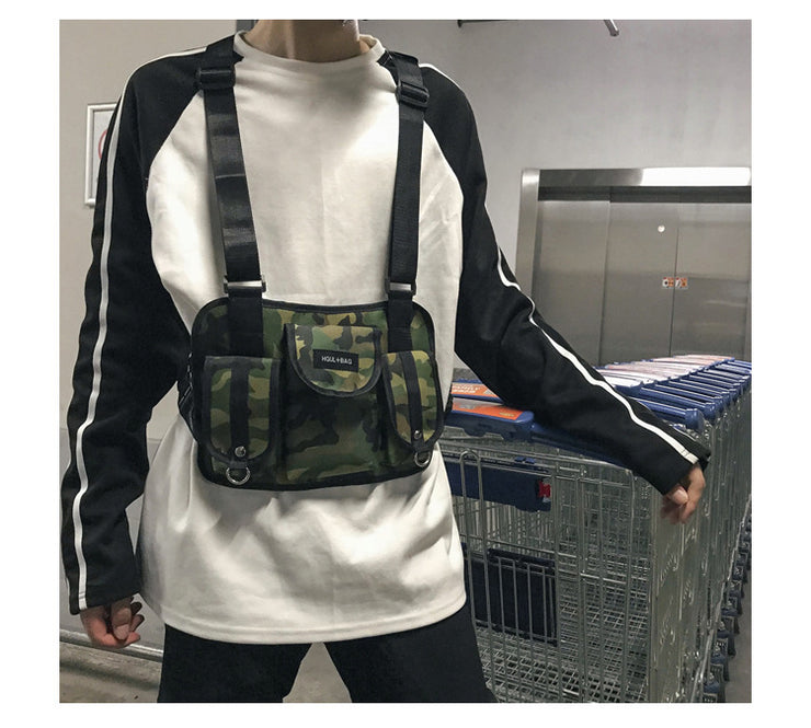 Hip Hop Streetwear Bag - Visual Streetwear