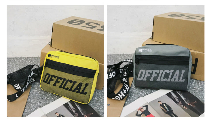 Official Crossbody Chest Bags - Visual Streetwear