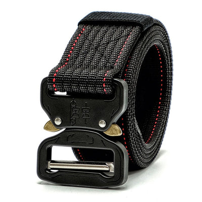"""Tactical buckle belt"" - Visual Streetwear"