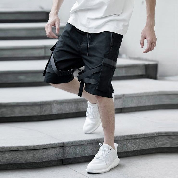 """WRAP AROUND"" Tactical Shorts - Visual Streetwear"